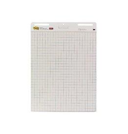 Post-it Post-it meeting chart, 63,5x77,5cm, geruit, 30vel, 2 blokken