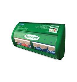 Salvequick Salvequick pleisterautomaat, 45 plastic en 40 elastische
