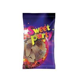 Sweet party Sweet Party zure cola flesjes, zakje van 100 g