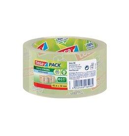 Tesa Tesa verpakkingsplakband Eco,  50mmx66m PP transparant