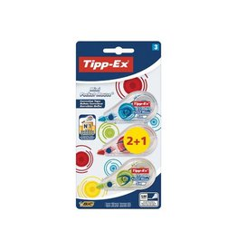 Tipp-ex Tipp-Ex correctieroller Mini Pocket Mouse Fashion 2+1 gratis