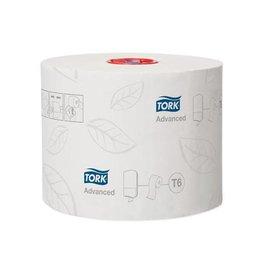 Tork Tork toiletpapier Mid-Size 2-l 100 meter systeem T6 27 rol.