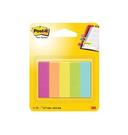 Post-it Post-it Notes Markers Capetown 12,7x44,4mm 5 blokjes 100 vel
