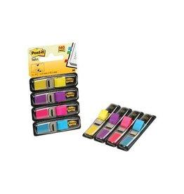 Post-it Post-it Index Smal 4x35 tabs geel paars roze en helderblauw
