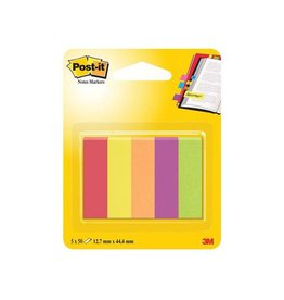 Post-it Post-it Notes Markers Jaipur, 12,7x44,4mm, 5 blokjes 50 vel