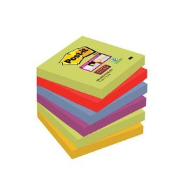Post-it Post-it Super Sticky notes Marrakesh 76x76mm 90vel 6 blokken
