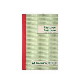 Exacompta Exacompta factuurboek 21x13,5cm tweetalig tripli (50x3 vel)
