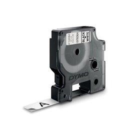 Dymo Dymo duurzame D1 tape 12 mm x 5 m, zwart op wit