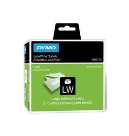 Dymo Dymo duurzame etiketten LabelWriter 89x36mm, 260 etiketten
