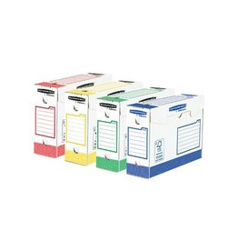 Bankers Box Bankers Box basic archiefdoos heavy duty, 9,5x24,5x33cm, 8st