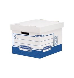 Bankers Box Bankers Box basic opbergdoos heavy duty standaard, 10st