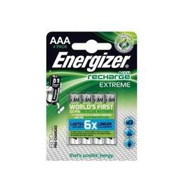Energizer Energizer herlaadbare batterijen Extreme AAA, blister 4st