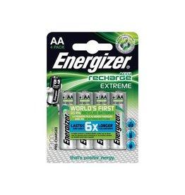 Energizer Energizer herlaadbare batterijen Extreme AA, blister van 4st
