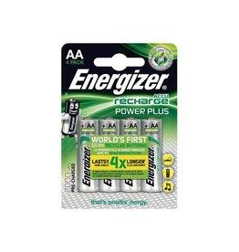 Energizer Energizer herlaadbare batterijen Power Plus AA, blister 4st