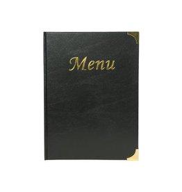 Securit Securit menukaart Basic ft A4, zwart [10st]