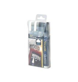 Securit Securit Waterproof krijtmarker medium zwart/wit, 4st