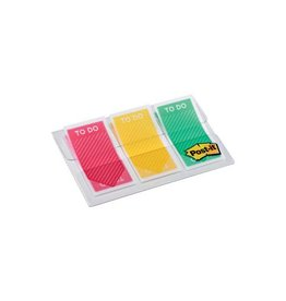"Post-it Post-it Index "" To Do"", ft 23,8 x 43,1, pak van 3 x 20 tabs"
