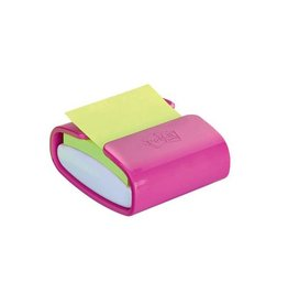Post-It Super Sticky Post-it Z-Notes dispenser Pro Color roze, 76x76mm, 90vel