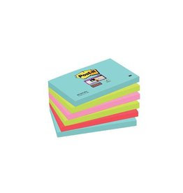 Post-it Post-it Super Sticky notes Miami 76x127mm 90vel 6 blokken
