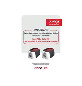 Badgy Badgy garantie uitbreiding voor badgy printers, 1 jaar