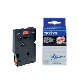 Brother Brother tape P-Touch 12 mm, zwart op fluo oranje