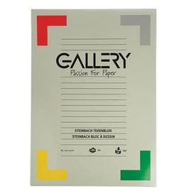 Gallery Gallery Steinbach tekenblok, 29,7x42cm A3, 250 g/m², 20 vel