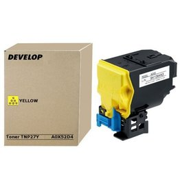 Develop Develop TNP-27Y (A0X52D4) toner yellow 6000 pages (original)