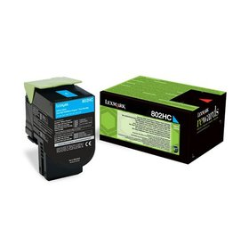 Lexmark Lexmark 80C2HCE toner cyan 3000 pages project (original)