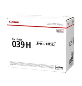 Canon Canon 039H (0288C001) toner black 25000 pages (original)