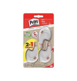 Pritt Pritt correctieroller Eco Flex, blister 2 + 1 gratis [10st]