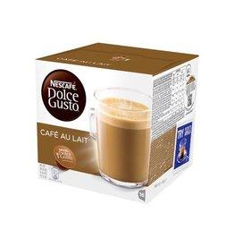 Nescafé Dolce Gusto Nescafé Dolce Gusto koffiecapsules, Café au lait, 16 stuks