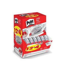 Pritt Pritt correctieroller Refill Flex 4,2mmx12m,doos 12+4 gratis