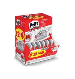 Pritt Pritt correctieroller Compact Flex 4,2mmx10m doos 12+4