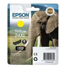 Epson Epson 24XL (C13T24344012) ink yellow 740 pages (original)