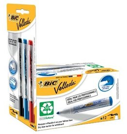 Velleda Velleda whiteboardmarker 1701 blauw, 12st + Liquid Ink, 3st
