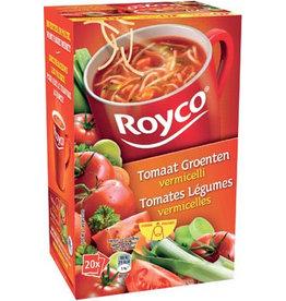 Royco Royco Minute Soup tomaat groenten vermicelli, 20 zakjes