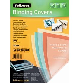 Fellowes Fellowes omslagen ft A4, 180 micron, pak van 100 stuks