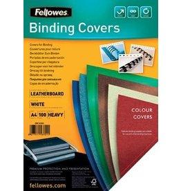 Fellowes Fellowes omslagen ft A4, 250 micron, pak van 100 stuks, wit