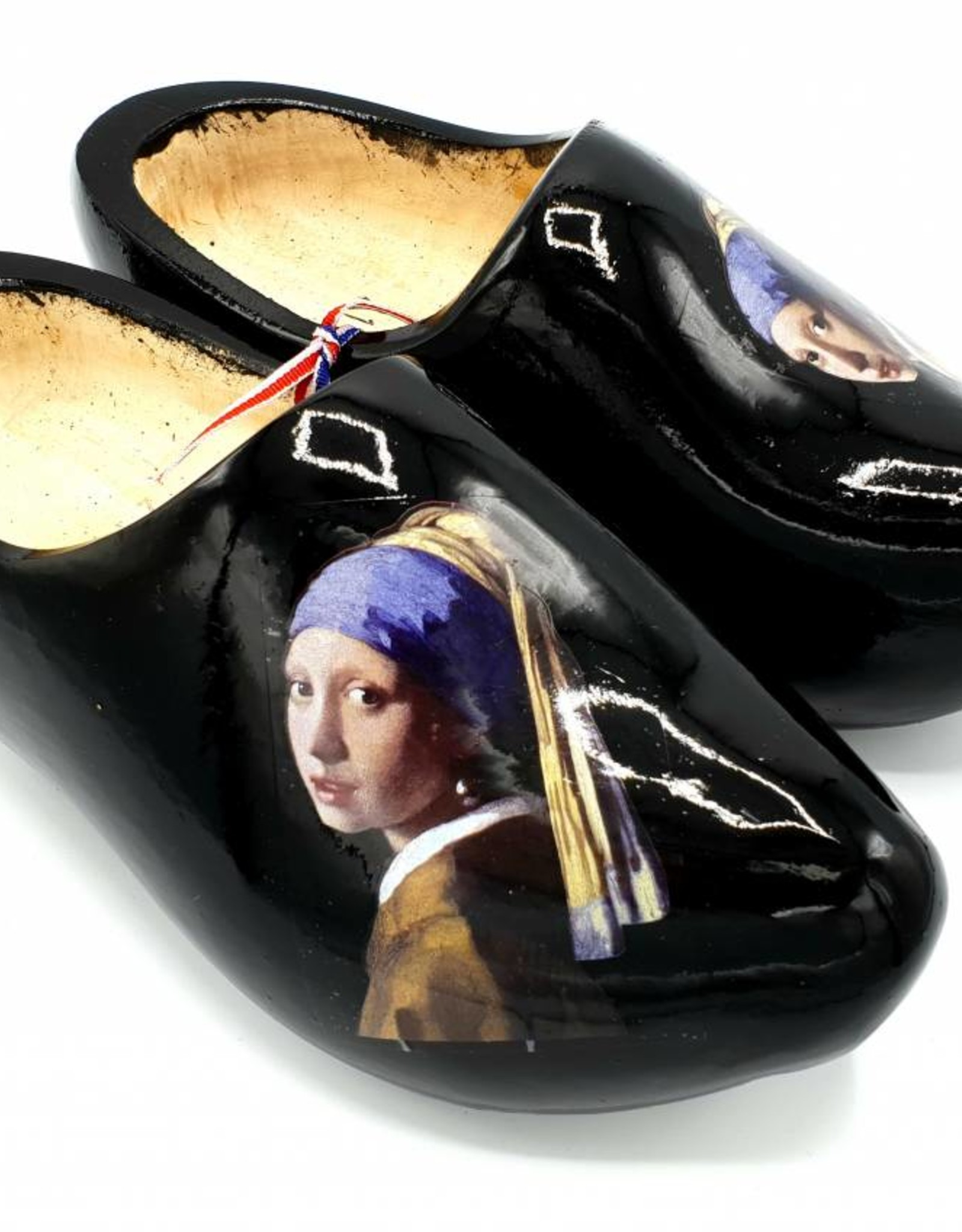Wilhelmus Woodenshoes with personal text or logo in your color
