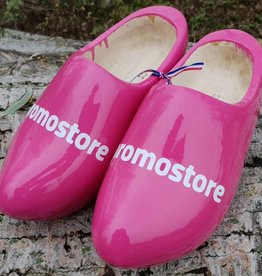Wilhelmus Woodenshoes with your logo in your color