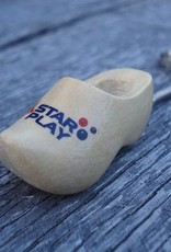 Klompsleutelhangers met logo