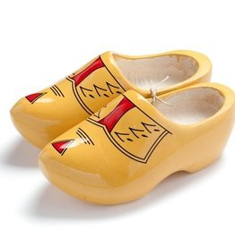 Wilhelmus Yellow farmer clogs