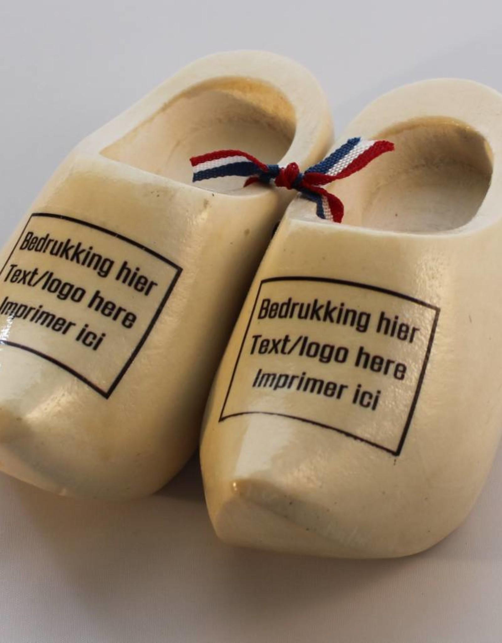 woodenshoes souvenirpair 12cm with logo