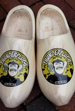 Wilhelmus Woodenshoes with personal text or logo