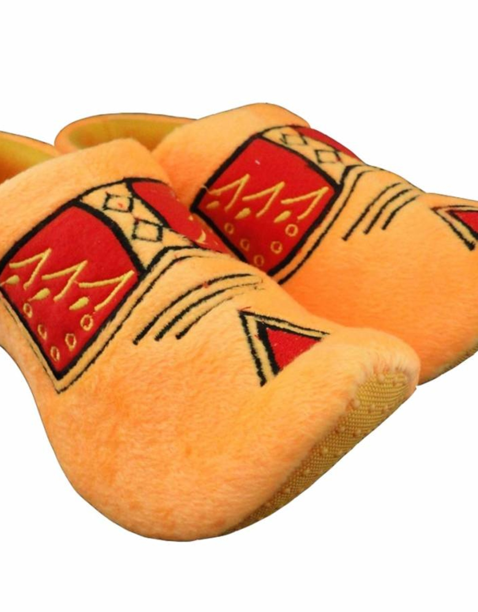 Farmer yellow woodenshoe slippers
