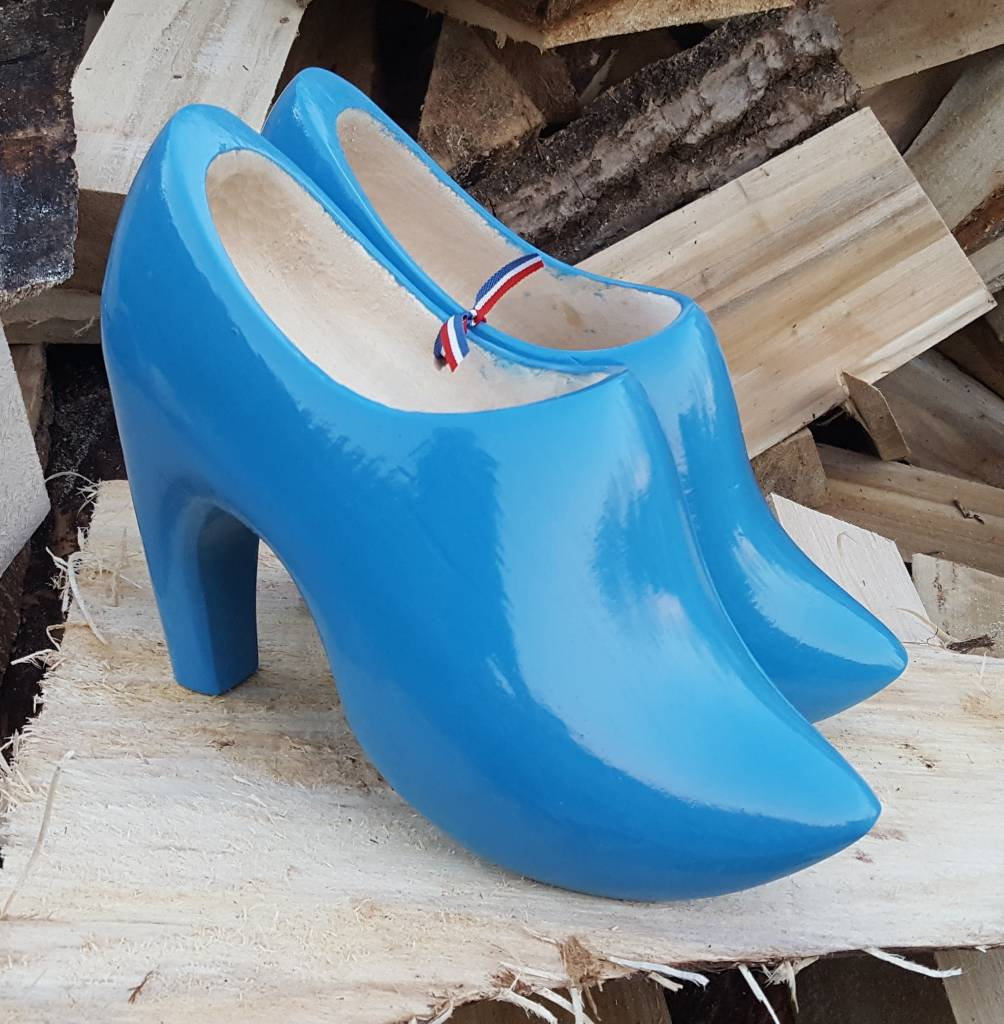 High Heel Wooden Shoes With Your Own