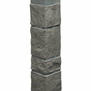 Tecos Ardense steenhoek, buitenhoek, Basaltgrijs