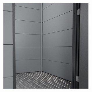 Eleganto binnenwand 3Mx2.7M, flat coat grijs