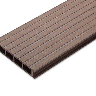 Tecos Terras decking,Premium, Chocolate brown