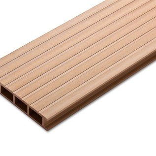 Tecos Terras decking,Premium, Cedar brown
